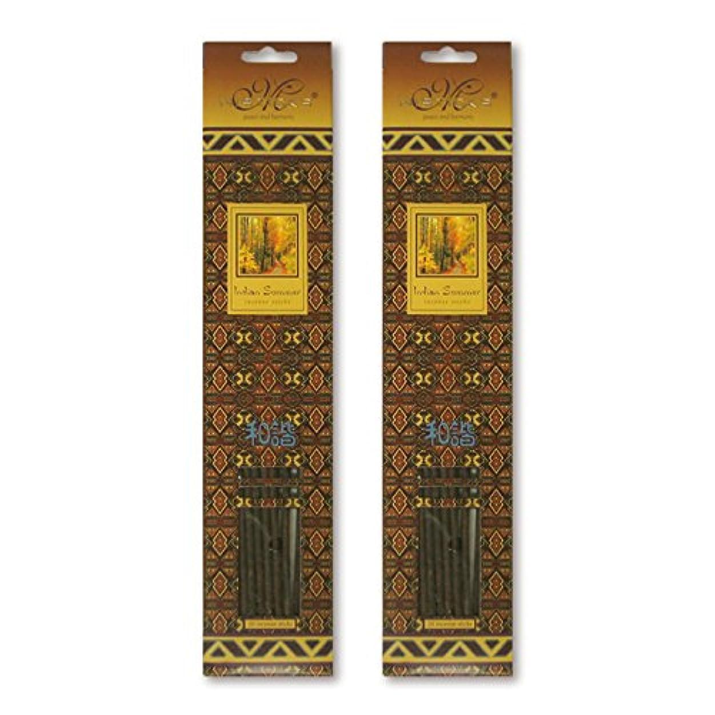 伸ばす最高第三MISTICKS ミスティックス Indian Summer インディアンサマー お香 20本 X 2パック (40本)