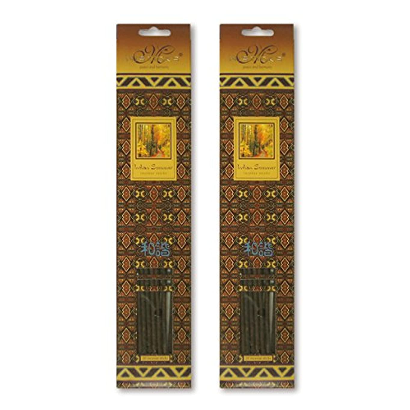 結果クルー例示するMISTICKS ミスティックス Indian Summer インディアンサマー お香 20本 X 2パック (40本)