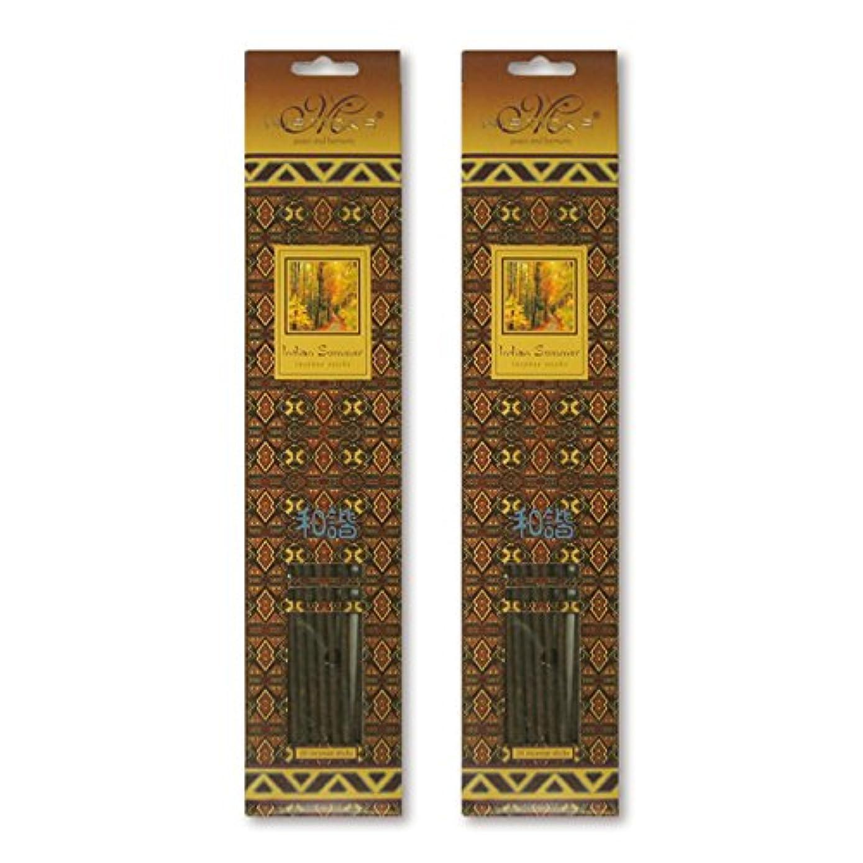 熱意歌名目上のMISTICKS ミスティックス Indian Summer インディアンサマー お香 20本 X 2パック (40本)