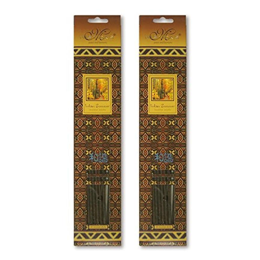 津波腹パパMISTICKS ミスティックス Indian Summer インディアンサマー お香 20本 X 2パック (40本)
