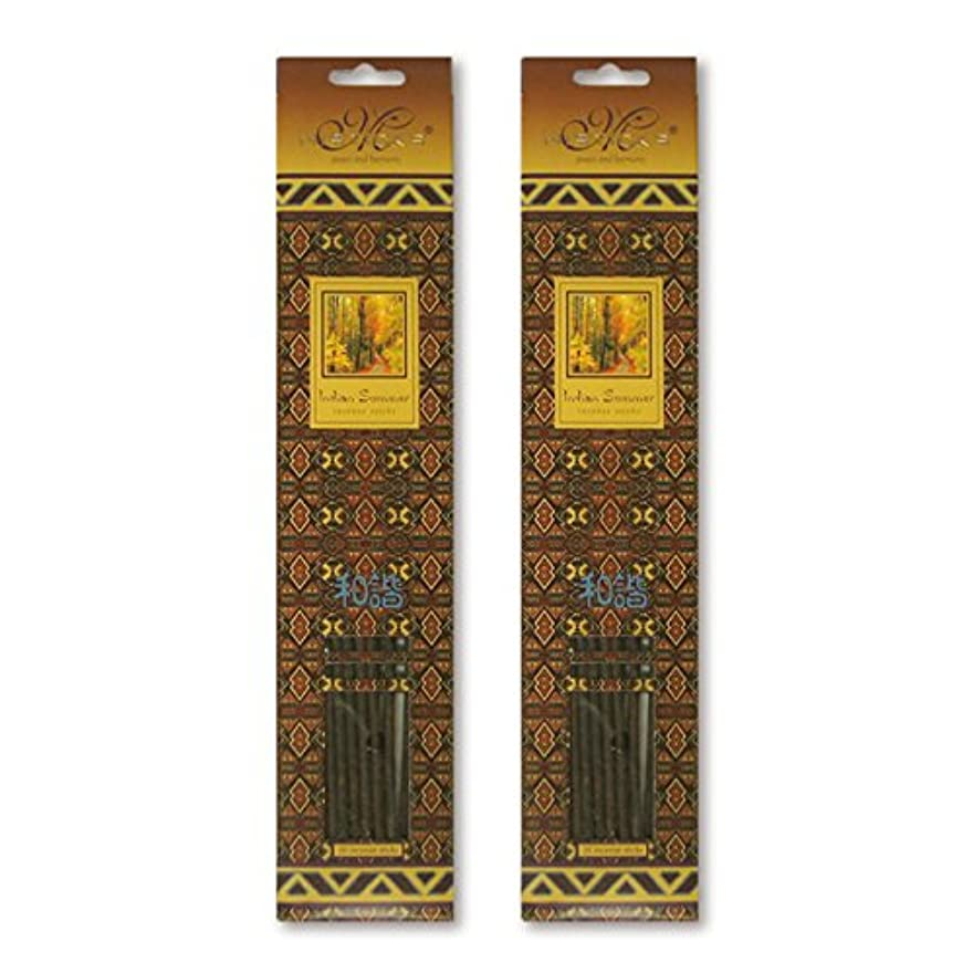 利点リアルジャンプMISTICKS ミスティックス Indian Summer インディアンサマー お香 20本 X 2パック (40本)