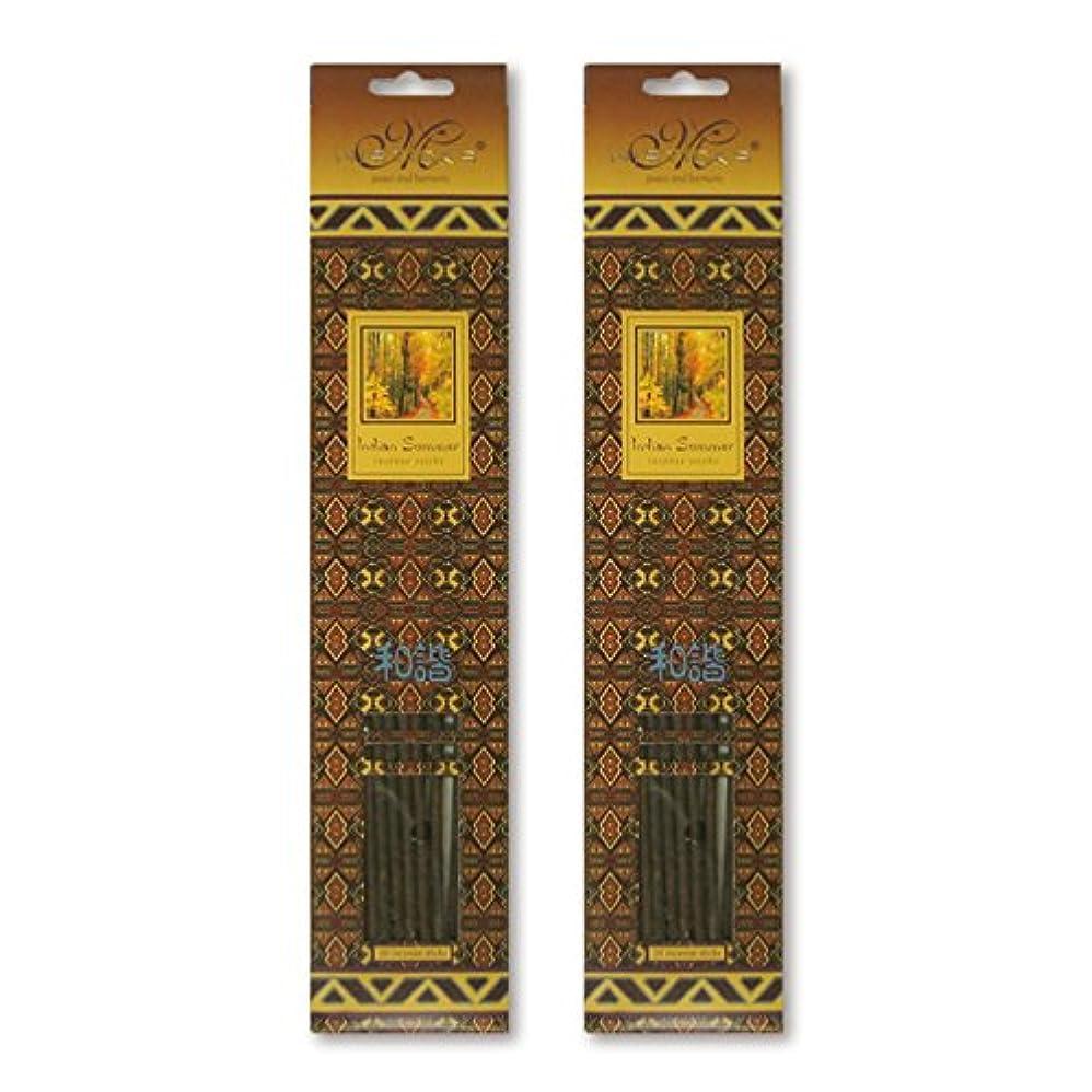 建設外出見物人MISTICKS ミスティックス Indian Summer インディアンサマー お香 20本 X 2パック (40本)