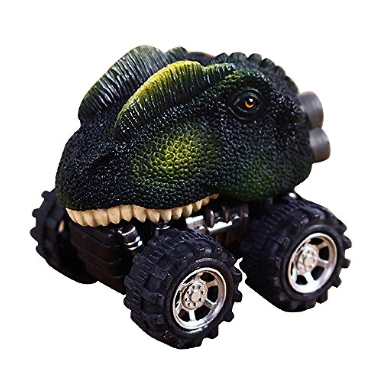 Gobao 車両用おもちゃ 恐竜モデル ミニ 車 ギフト おもちゃ プルバック 車 おもちゃ 車 トラック マルチカラー Gobao