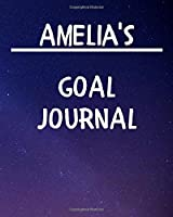 Amelia's Goal Journal: 2020 New Year Planner Goal Journal Gift for Amelia  / Notebook / Diary / Unique Greeting Card Alternative