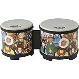 """Remo RH-1206-00 Rhythm Club Konga Drum Bongo Drum 5""""-6"""" Bongo Drum Rhythm Club Rhythm Kids"""