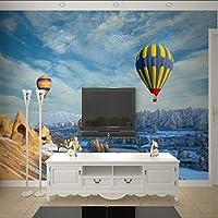 Lixiaoer 写真の壁紙3Dカスタムテレビの背景の壁の寝室のソファリビングルーム子供部屋バルーン壁紙壁画-350X250Cm