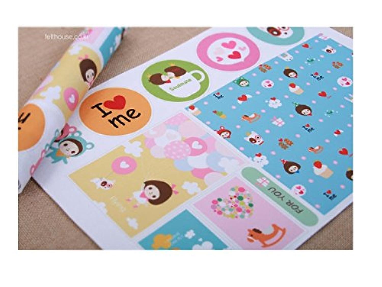 Korea Toy - Soul mate hard Paper 801 color