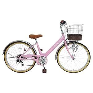 My Pallas(マイパラス) 子ども用自転車 M-811 24インチ 6段変速 ピンク