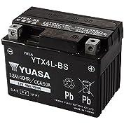 TAIWAN YUASA [ 台湾ユアサ ] シールド型 バイク用バッテリー [YT4L-BS高性能...
