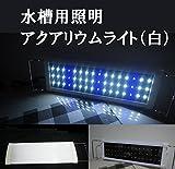白L Global Selection Store おまけ付き アクアリウムライト フラット LEDランプ LED600 9w 60cm-90cm (超白光600 9w) …