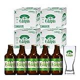[WEB限定]サッポロ エーデルピルス 瓶 305ml x 20本 グラス4個付き