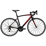 メリダ(MERIDA) ロードバイク RIDE 400 シルクブラック/レッド(EKR8) AMR04508 50cm