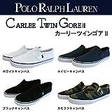 [ポロラルフローレン] POLO RALPH LAUREN スニーカー/CARLEE TWIN GOREⅡ NAVY 23.9(US4.5)