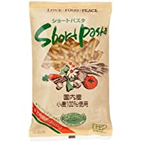 国内産小麦粉ショートパスタ 300g×4袋