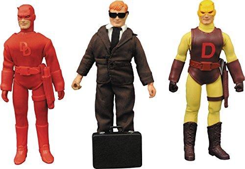 Diamond Select ダイアモンドセレクト Toys Marvel マーベル Retro Cloth Daredevil デアデビル Action アクション Figure フィギュア Gift ギフト Set [並行輸入品]
