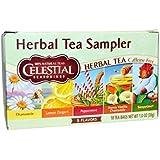 Celestial Sampler Herbal Tea 20 Teabags