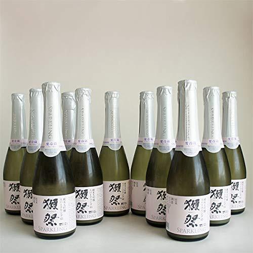 獺祭 発泡スパークリング 45 360mlx12本 小瓶 クール便 純米大吟醸 だっさい 旭酒造 山口県