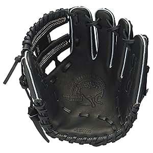SSK(エスエスケイ) 野球 少年軟式グラブ スペシャルメイクアップシリーズ オールラウンド用 ブラック 右投用 SMJ740