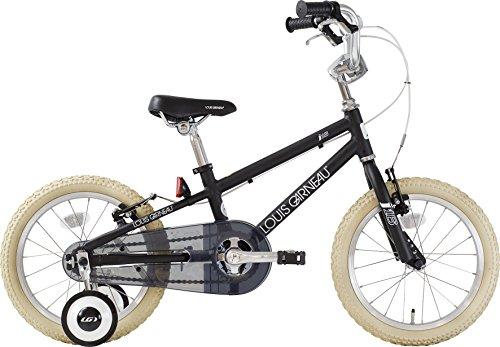 LOUIS GARNEAU(ルイガノ) サイクルスポット ルサイク オリジナル キッズ自転車 j16 220mm ブラック j16 ブラック