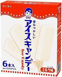 センタン アイスキャンデー ミルク味 6本入×8箱