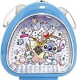 ティーズファクトリー 置き時計 スティッチ H13.5×W13×D5cm ディズニー キャンディドリームおむすびクロック DN-5520217ST