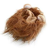 JWBOSSライオンのかわいいペットの猫の犬のハロウィンフェスティバルのファンシードレスアップ耳 - ラクダ - L