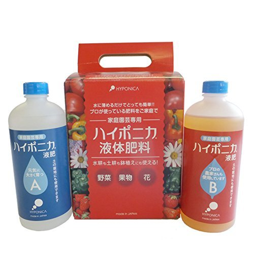 ハイポニカ 水耕栽培 液体 肥料 500...