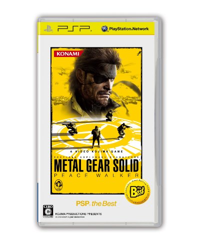 METAL GEAR SOLID PEACE WALKER PSP the Best コナミデジタルエンタテインメント