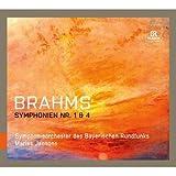 ブラームス:交響曲第1番&第4番