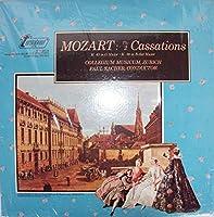 The 2 Cassations - Wolfgang Amadeus Mozart, Collegium Musicum Zürich, Paul Sacher LP