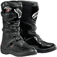 Alpinestars Tech 3sユースBoys MX Motorcycle Boots–ブラック/サイズ2
