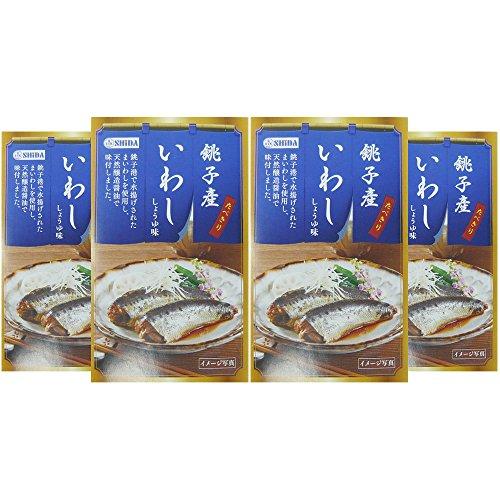 信田缶詰 たべきり銚子産いわししょうゆ味 1セット(100g×3缶)