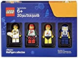 LEGO Bricktober陸上競技選手ミニフィギュアセット( Tennis Player , Race Car Driver、サーファー、Hockey Player ) 5004573