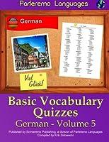 Parleremo Languages Basic Vocabulary Quizzes German
