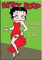 Betty BoopマグネットHitchin ' A RideガーターLegポーズ
