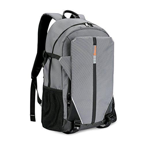 Niksa バックパック リュックサック PCバッグ アウトドア 登山 旅行 通学 通勤 ビジネス 多機能 大容量 防水素材 男女兼用