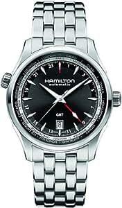 [ハミルトン]HAMILTON 腕時計 JAZZMASTER  GMT (ジャズマスター GMT) H32695131  メンズ 【正規輸入品】