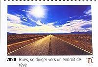 Rues, se diriger vers un endroit de rêve 2020 - Calendrier de bureau Timokrates, calendrier photo, calendrier photo - DIN A5 (21 x 15 cm)