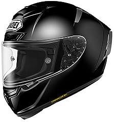 ショウエイ(SHOEI) バイクヘルメット フルフェイス ~ X-Fourteen ブラック L (頭囲 59cm~60cm)