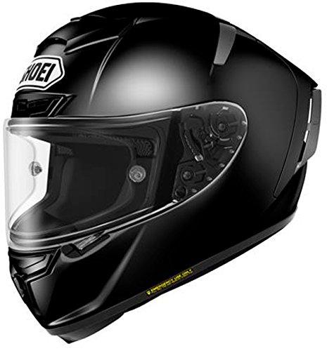 ショウエイ(SHOEI) バイクヘルメット フルフェイス ~ X-Fourteen ブラック XL (頭囲 61cm~62cm)