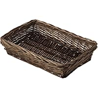 『スモーク煮柳』四角タイプトレー「30×20×7cm」(ヌード)/ダークブラウン