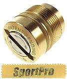 APS製 AC010 ガスブローバック ピストル ACP601 ACP606用 CO2 マガジンキャップ ネジ式の蓋 メタル製 - ゴールド