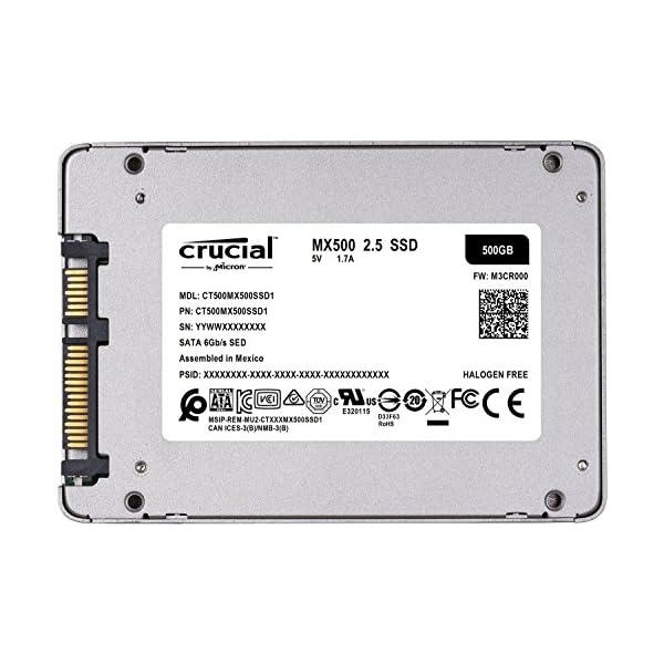 Crucial SSD 500GB 7mm /...の紹介画像3
