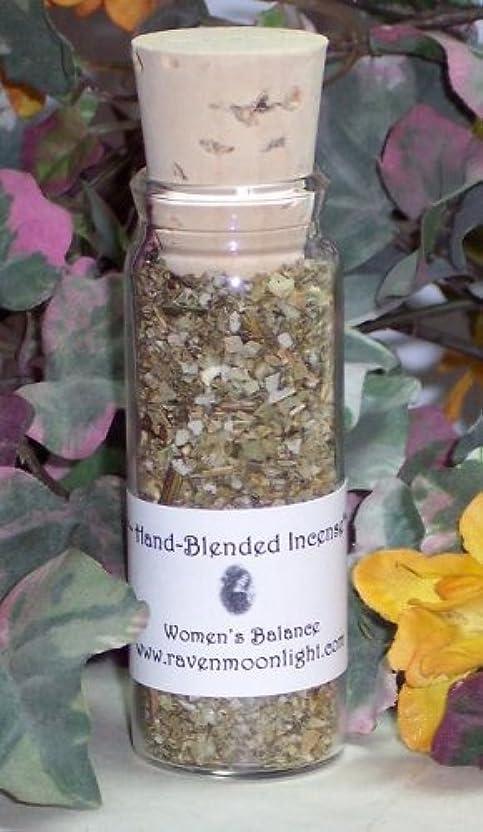 降ろすフィヨルドうんhand-blended Incense : Women 'sバランス
