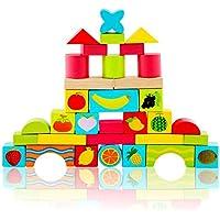 積み木 果物 知育おもちゃ 赤ちゃんおもちゃ 想像力を育つ知育玩具