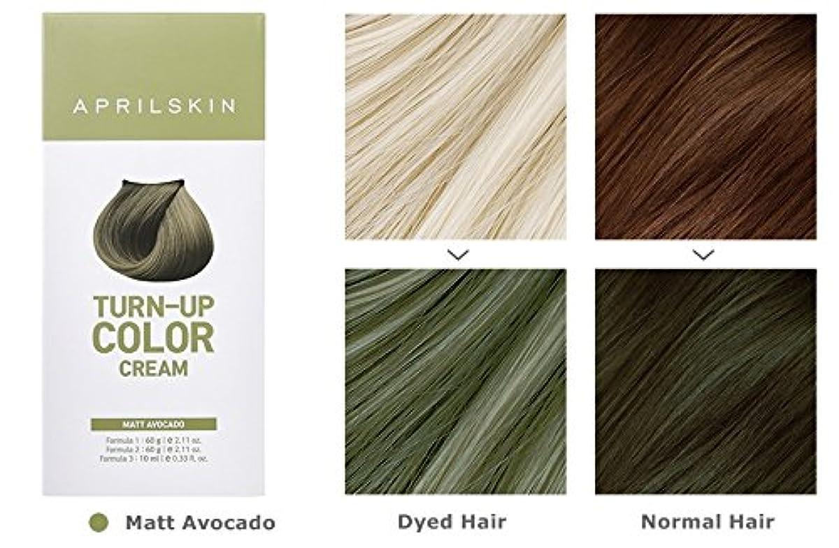 いつ特権的飢April Skin Turn Up Color Cream Long lasting Texture Type Hair Dye エイプリルスキン ターンアップカラークリーム長持ちテクスチャタイプヘアダイ (紅)