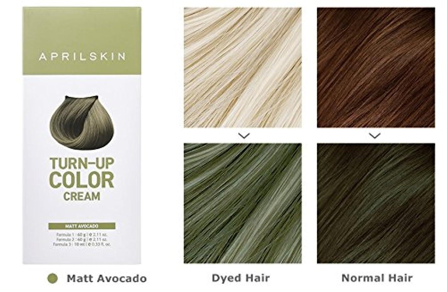 協定笑必需品April Skin Turn Up Color Cream Long lasting Texture Type Hair Dye エイプリルスキン ターンアップカラークリーム長持ちテクスチャタイプヘアダイ (紅)