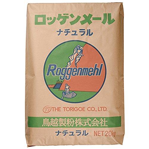 ライ麦粉(鳥越製粉) / 20kg TOMIZ/cuoca(富澤商店) ライ麦 その他ライ麦粉