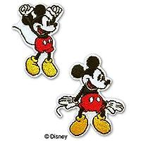 ディスニー「ミッキーマウス」アイロン接着ワッペン