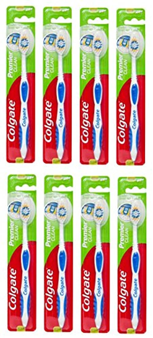 大破ラリーメドレーColgate Premier Clean コルゲート 歯ブラシ 8個 [並行輸入品]